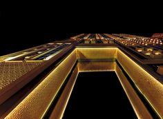 مرسى دبي No 1 - Dubai Marina (Arabic: مرسى دبي) is a district in Dubai, United Arab Emirates. Dubai Marina is an artificial canal city, built along a two-mile (3 km) stretch of Persian Gulf shoreline.[2] When the entire development is complete, it will accommodate more than 120,000 people in residential towers and villas. It is located on Interchange 5 between Jebel Ali Port and the area which hosts Dubai Internet City, Dubai Media City, and the American University in Dubai. The first…