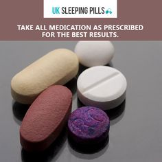 Take all medication as prescribed for the best results.