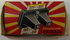 Vintage 1950s French Stereoscope. With original by Retrofanattic, THIS ITEM IS NOW SOLD.