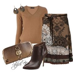"""""""Brown Outfit !"""" by stylisheve on Polyvore"""