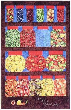 Pantry+Shelves+Quilt+Pattern+by+KoolKat+Quilting+at+Creative+Quilt+Kits    Save 10% with code- PINTEREST10 at checkout