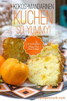 Ganz einfach und schnell und dabei so saftig und yummy ist dieser Rührkuchen mit Kokos, Mandarine und Buttermilch. Backt diesen tollen Kuchen einfach mal nach, ob als Napfkuchen oder in einer anderen Form. Auch in Muffin-Förmchen oder als Mini-Gugl sehr lecker! Entdeckt mein Rezept! #rührkuchen #recipe #baking #backrezept #kokoskuchen #mandarinen #schnellerkuchen #easyrecipe #muffins Form, Hamburger, Stollen, Bread, Foodblogger, Muffins, Easter Food, Quick Cake, Muffin