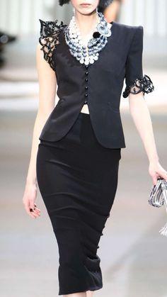 * Armani Prive Haute Couture Spring 2009   Feminine fashion detail   Å