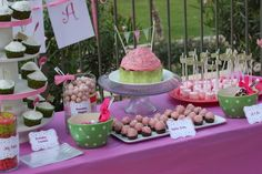 Cupcake theme - Fun party ideas  So Cute