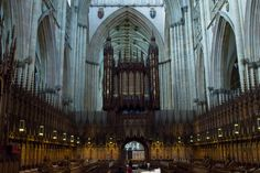 Quire & High Altar architecture pictured at York Minster,North Yorkshire,England ©Steve Gill from Photocrowd.com