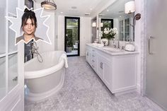Kendall Jenner - 15 Celebrity Bathrooms That Are Nicer Than Our Apartments - Photos