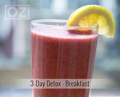 3-Day Detox - Breakfast