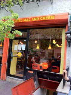 S'MAC East Village. Customizable mac 'n' cheese.