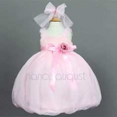 Tulle Baby Dress in Pink