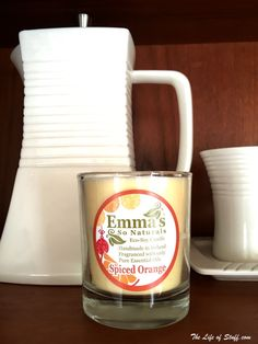 Irish Made & Natural - Four Fabulous Irish Candle Makers - Emma's So Naturals Candle - Spiced Orange Natural Candles, Soy Candles, Scented Candles, Aroma Diffuser, Diffuser Blends, Candle Maker, Handmade Candles, Natural Essential Oils, Fragrance Oil