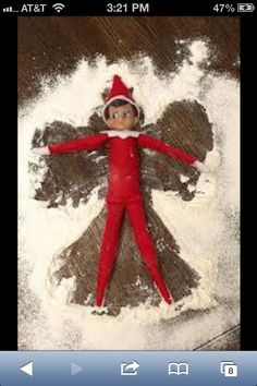 Elf on a shelf.