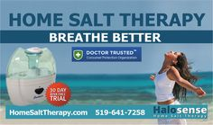 Know More about Salt Therapy Salt Therapy can improve your breathing and clear the upper respiratory system to help you breathe easy. It is also proven effective in treatment of conditions such as asthma, COPD and shortness of breath. In the medieval times, patients were taken deep inside salt caves by monks to provide them relief from asthma and other breathing problems.