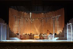 Carousel. Reprise Theatre Company. Scenic design by Tom Buderwitz.
