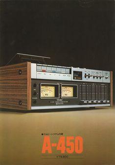 Stereo Cassette Deck TEAC A450