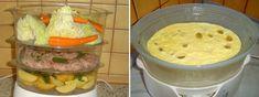 Vaření v páře: Parní hrnec vaří zdravě a velmi chutně. Recepty pro parní hrnec navrch     MAKOVÁ PANENKA Meat, Chicken, Food, Essen, Meals, Yemek, Eten, Cubs
