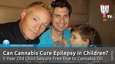 Can Cannabis Cure Epilepsy in Children? 5 Year Old Child Seizure Free Du...