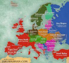 Πώς λέγεται ο Αγιος Βασίλης σε κάθε χώρα της Ευρώπης; Θα εκπλαγείτε... |thetoc.gr