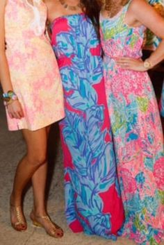 Lilly Pulitzer Looks at the Palm Beach Beach Bash