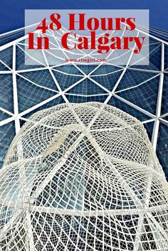 Calgary: A 48 Hour Guide > If you're planning to visit Banff National Park or Lake Louise in the Rockies, the Calgary is the closest city to fly into. Be sure to add in a few days to explore this up and coming Canadian city. Calgary, Visit Canada, O Canada, Canada Trip, Canadian Travel, Canadian Rockies, Alberta Canada, Banff Alberta, Montreal
