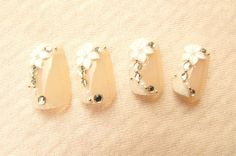 My Wedding Nail Art!!! <3