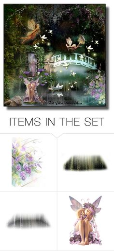 """""""Do You Believe..."""" by cathy1965 ❤ liked on Polyvore featuring art"""