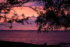 Sunrise on Lake Winnebago, WI