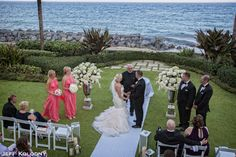 #75 #Palm Beach #California #Wedding #Ceremony #Beach #Couple #Bride #Groom
