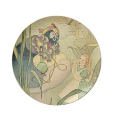 Alice in Wonderland Plates by Clareville
