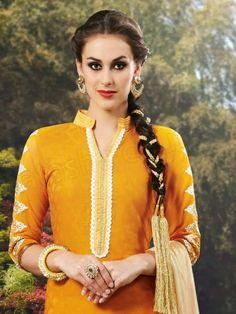 european couture dresses for little girls | Tags: Punjabi Suits, Suits For Punjabi Girls, Patiala Suits, Short ...