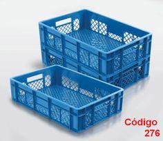 caixas plasticas vazadas 60x40x15 cm