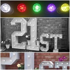 Large Light Up Letters for Birthday Celebrations. Large Light Up Letters, Wedding Letters, Birthday Celebrations, 21st Birthday, Surrey, Tree Branches, Corporate Events, Art Pieces, Lettering