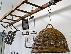I think I would like this over the washer and dryer  credit: Houzz [ http://www.houzz.com/ideabooks/352871/list/12-Ways-to-Rethink-the-Ladder]