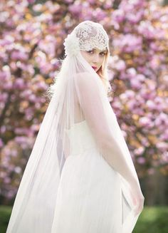 bohemian hippie wedding hairstyles with all-covered veil