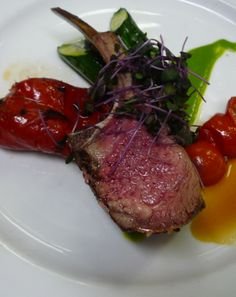 Rack of lamb, spring is on my mind...