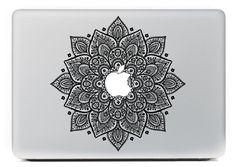 un Mac Book avec ce sticker...on a tous le droit de réver