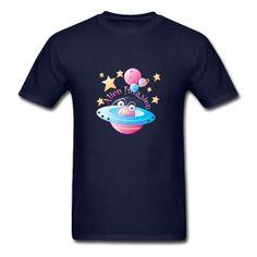#UFO #Alien #Toon #FlyingSaucer #Tshirt Alien Invasion T-Shirt. Classic-cut standard weight t-shirt for men, 100% pre-shrunk cotton, Brand: Gildan