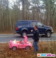 Car Trouble! hahahahaha omg this would be such a funny prank or aprils fool