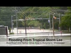 Tropical Storm Lee Brings Flooding, Weather Channel to Jackson, Mississippi | http://newsocracy.tv