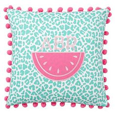 Poolside Splash Pillow Covers #pbteen