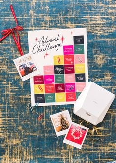 Print off photos using the FUJIFILM Instax SHARE® SP-3 SQ Printer of all your holiday activities leading up to Christmas to count down the days! It connects to your phone so you can pick the perfect photo before you print! Holiday Photos, Christmas Photos, Holiday Fun, Christmas Wishes, Holiday Activities, Inspirational Gifts, Instax Share, Apple Pro, Challenges