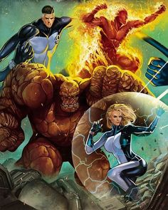 Fantastic Four Follow us on Instagram and Twitter the best HD images from the world of comics and anime from here you can find all HD images of comics and anime visit us for our Instagram and twitter. #marvel #marvelcomics #marvelstudios #marveluniverse #marvelentertainment #marvelcomic #waltdisney #marvellegends #disney #vs #dccomics #dcnation #dcuniverse #dccomicsuniverse #dcfilms #dcentertainment #dccomic #dc #warnerbros #manga #anime #bandai #toeianimation #madhouse #followme…