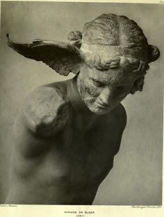 Hypnos, the Greek personification of sleep.