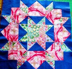 My first Swoon block, #swoonquilt