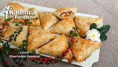 Tavuklu Üçgen Börek Tarifi 30 Diet, Spanakopita, Diet Recipes, Dairy, Cheese, Chicken, Meat, Ethnic Recipes, Food