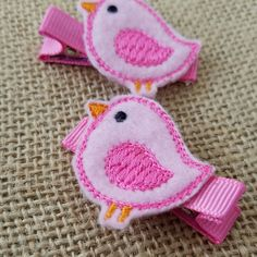 Sweet birds, for Springtime hairdos! Don't forget to shop our new clearance section!