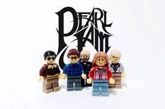 Mais Arte com Bandas Feita em Lego : Música Pavê