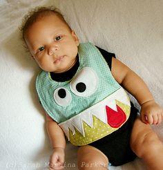 Love this Monster Bib!!