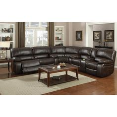 Found it at Wayfair - Jayce Reclining Sectional