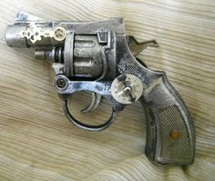 Sommerville Family Derringer, WORKING steam punk cap gun