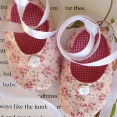 Ballet Style Baby Shoes Sewing Pattern by mysweetlittle on Etsy